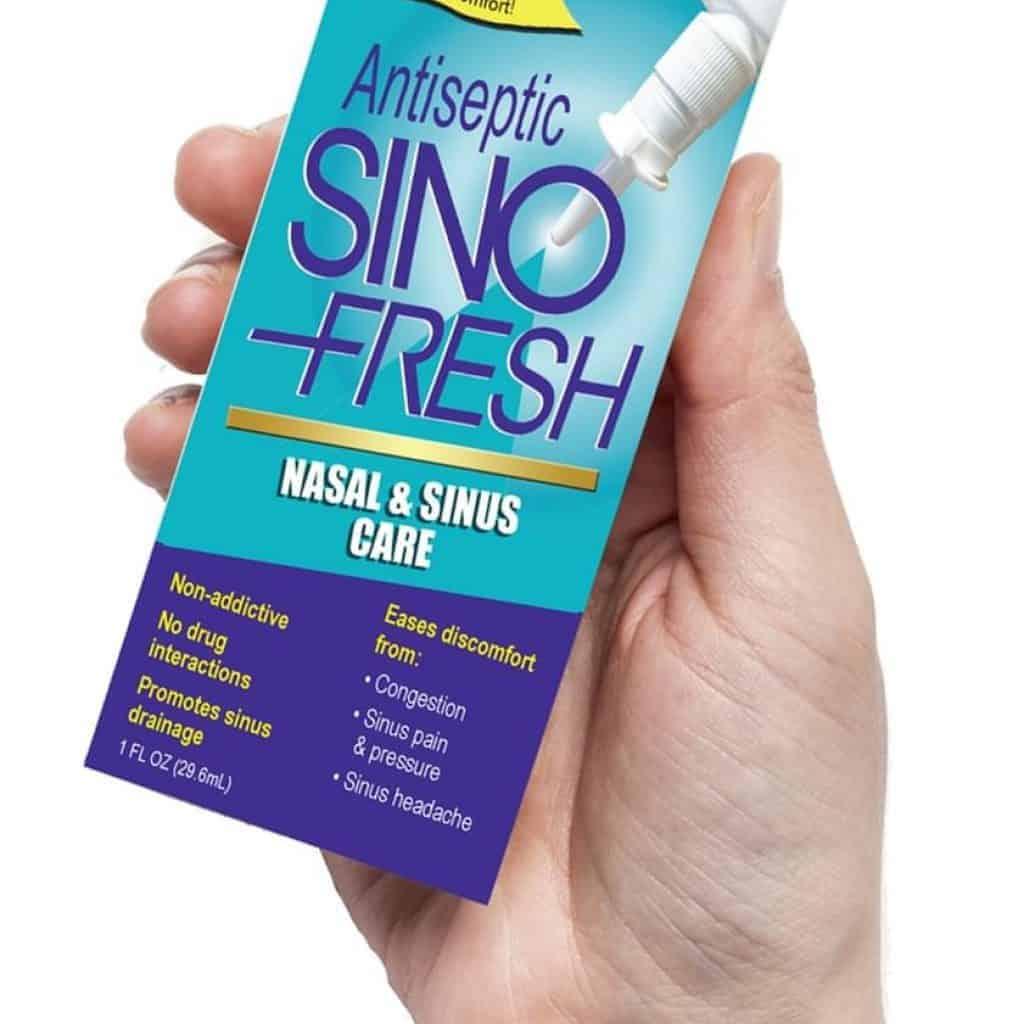 Sinofresh Sinus Pain reliever spray